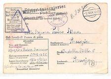 UU297 1944 ITALIA PERUGIA US Army esaminato cartolina {samwells-copre}