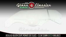 HQ HJ HX Holden Coupe Monaro Side Windows (Clear)