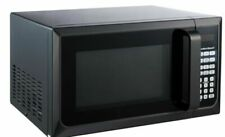 Hamilton Beach 0.9 Cubic Feet Microwave Oven Countertop Stainless Steel Black
