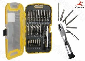 R'Deer 27Pcs Precision Screwdriver, Open End Wrench & Socket Set (RT-9178)