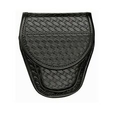 Bianchi 23823 Black 7900 Basketweave Accumold Elite Standard Handcuff Cuff Case