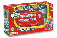WOW TOYS London Bus Leo for 1+ (Retail box shows some damage!)