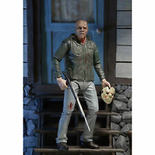 """Friday the 13th-Ultimate Part 3 Jason Voorhees NECA 7"""" Action Figure Collection"""