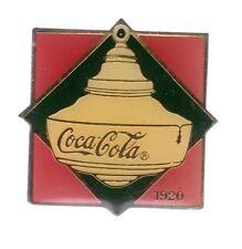 RARE PINS PIN'S .. COCA COLA COKE USA 100 ANS GLACIERE GLACON ART DECO 1920  ~17