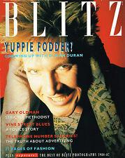 BLITZ #54 June 1987 SIMON LE BON Gary Oldman TOM JONES Duran Duran NICK RHODES