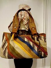 *STUNNING*  FOSSIL PURSE MADDOX REISSUE patches LEATHER SHOULDER BAG
