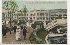 Coronation Exhibition 1911, The Garden Club Postcard, B490