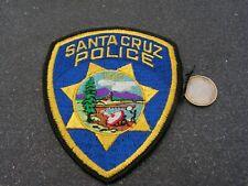 PATCH POLICE ECUSSON COLLECTION  USA   police santacruz