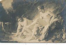 Erotik-Karte nackte Frau, Busen, Nude   (9)-(F27)