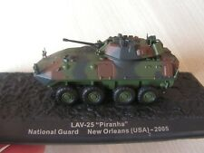 CHAR DE COMBAT  piranha usa 2005  national guard IXO    serie  12