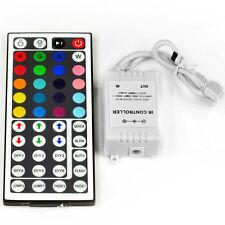 44 Key IR Remote Controller DC 12V 6A for RGB LED 3528 5050 SMD Strip Lights US