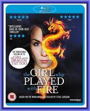 THE GIRL WHO PLAYED WITH FIRE - (2010) *NEW BLU-RAY*