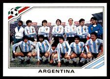 COUPE DU MONDE PANINI HISTOIRE 1990 - Argentine équipe N°169