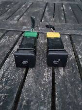 Saab 9-3 Convertible Hatch 98-02 Heated Front Seat Buttons Switches