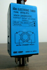 IDEC 24 VOLT DELAY ON MAKE TIMER W/ DIN RAIL MOUNTING - RTE-P11