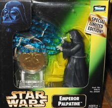 STAR  WARS  EMPEROR PALPATINE POWER of  the  FORCE yr1998  ACTION  FIGURE