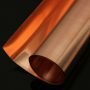 100mm BCDE 200mm 99,9/% reines Kupfer Cu Blech Platte 0,5mm