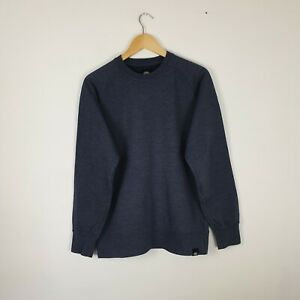 Men's Dickies Dark Grey / Blue Sweatshirt Jumper Heavyweight Workwear Size M