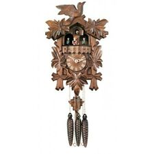 NEW Genuine Black Forest MUSICAL CUCKOO CLOCK with Dancers  MD411-14