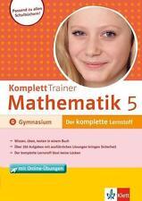 KomplettTrainer Mathematik 5. Klasse/GY von Heike Homrighausen (2015, Set mit di
