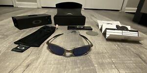 Oakley Juliet Plasma Frame Ice Lenses 2nd Generation Pre Owned Good Condition JI