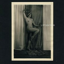 EXCEPTIONAL NUDE MODEL / AUSSERGEWÖHNLICHES AKT MODELL * Vintage 1920s Photo #1