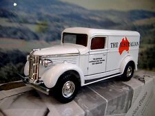 "Matchbox ""Power of Press""  GMC van 1937   ""The Australian"""