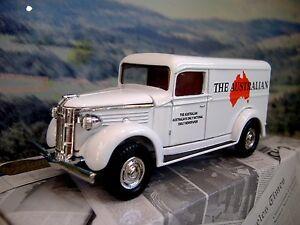 """Matchbox """"Power of Press""""  GMC van 1937   """"The Australian"""""""