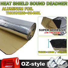 Car Sound Proofing & Heat Insulation Deadener 10mm Thickness Foam 100cm x 50cm