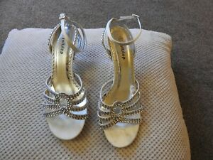 wide fit silver sandals   eBay