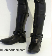 1/3 bjd Iplehouse EID HID male doll huge size black cowboy boots shoes ship US