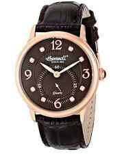 Ingersoll Women's INQ022BRRS Regent Analogue Display Japanese Quartz Brown Watch