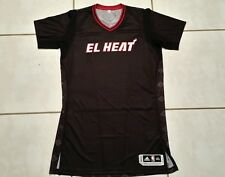 NWOT Authentic ADIDAS Miami Heat El Heat Blank NBA Jersey Men's 3XL Tall