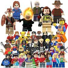 Minifigures compatibili Lego serie tv cartoni animati film spettacolo videogames