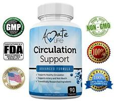 Amate Life Circulation Support Supplement for Arteries and Veins Health - Pills