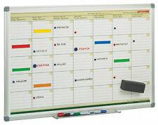 Pizarra Planificación Mensual Magnética Faibo 60x90cm (Planning Mensual)