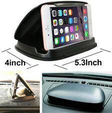 Car Center Console GPS Phone Mount Holder Support Stand Anti-sunshine Anti-slip