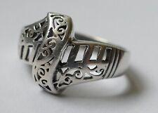 Ring filigrane Arbeit 925 Silber Vintage 60er ring silver