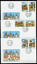 2002 Transylvania German Fortress,Fortified Church,Kirchenburg,Romania,5649,FDC