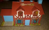 Vintage 1980 Fisher Price Tudor House Play Toy