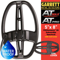 """Garrett 5"""" x 8"""" PROformance DD Submersible Searchcoil For AT PRO, AT MAX + COVER"""