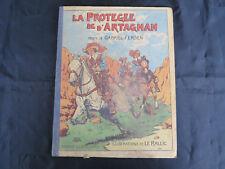 Album Jeunesse ! La protégée de d'Artagnan ! Gabriel Fersen ! 1945 ! C49