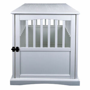 Casual Home 600-21 Pet Crate End Table - White