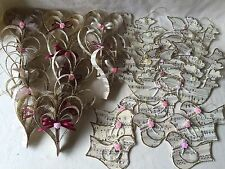 Shabby Chic Victorian Hearts & Birds Music Paper 33 - Handmade Ornaments