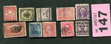 Set of   stamps of    USA