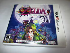 The Legend of Zelda Majora's Mask 3D (Nintendo 3DS) XL 2DS Game w/Case & Insert