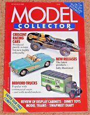 MODEL COLLECTOR Jun/July 1988 - European Ford Cars, Humber Hawk, Bedford Trucks