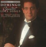 PLACIDO DOMINGO greatest love songs (CD, compilation, 1988) very good condition