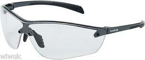 Bolle Silium + PLUS safety cycling glasses PLASTIC frame only 21g clear lens