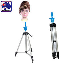 Adjustable Tripod Holder Stand Rack Human Hair Hairdressing Pratice JMET28310